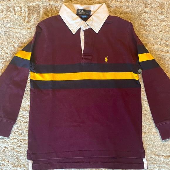 Ralph Lauren Polo Boys Long Sleeve Polo